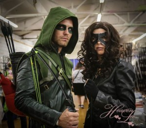 Cleveland Comic Con, Marvel, cosplay, costumers, reddit, cosplayers, DC Comics, Lady Death, steampunk, comics, Joker, Harley Quinn, Green Arrow, 14