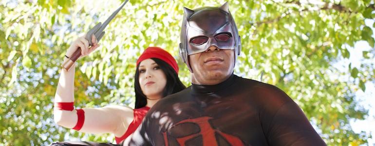 Daredevil & Elektra Cosplay Gallery