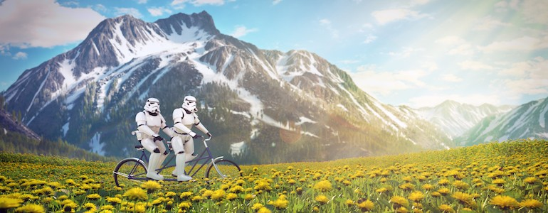 'Star Wars' Characters on Vacation