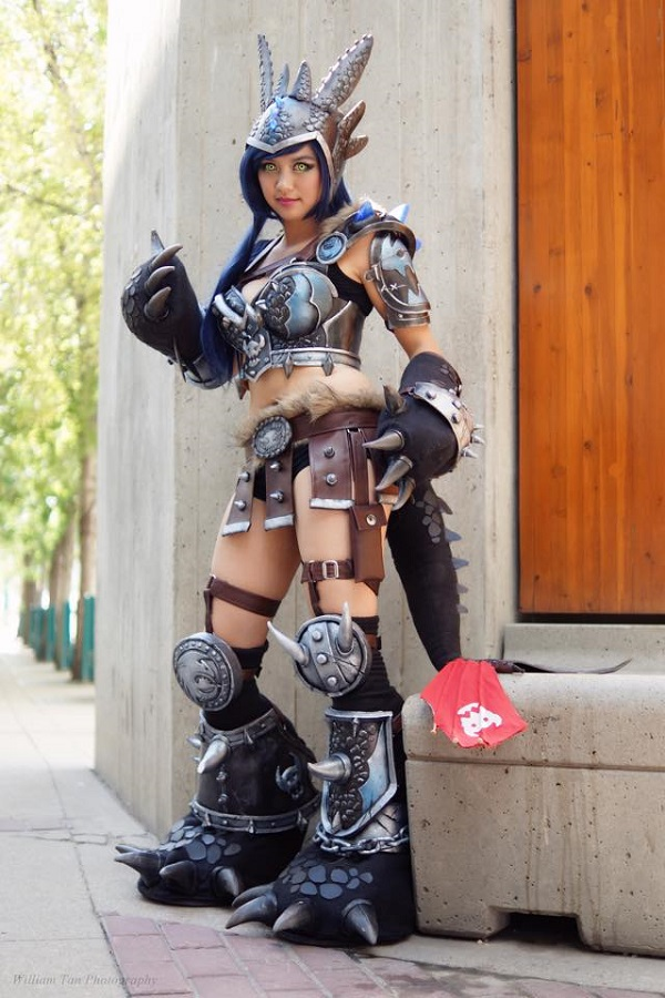 Armored Lady Toothless 7