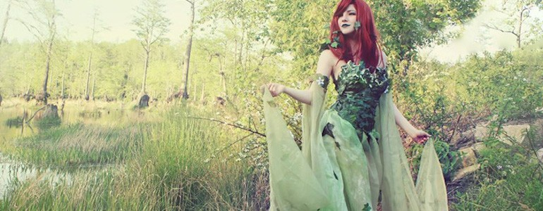 Enchanting Poison Ivy Cosplay