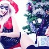 Holiday Harley Quinn Cosplay