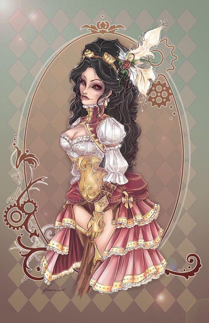 Jennifer, No Flurry, steampunk, character, costuming, cosplay, artist07