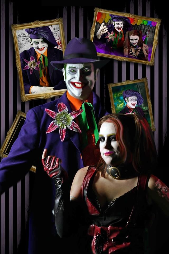 joker and harley cosplay gallery projectnerd
