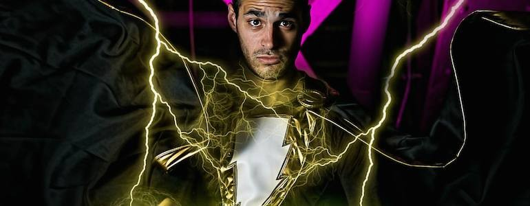 Awesome Black Adam Cosplay