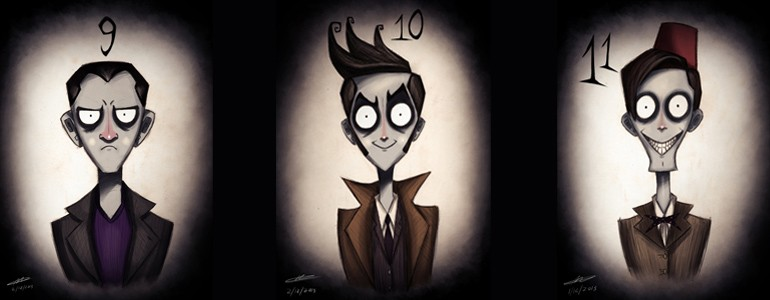 Doctor Who Meets Tim Burton