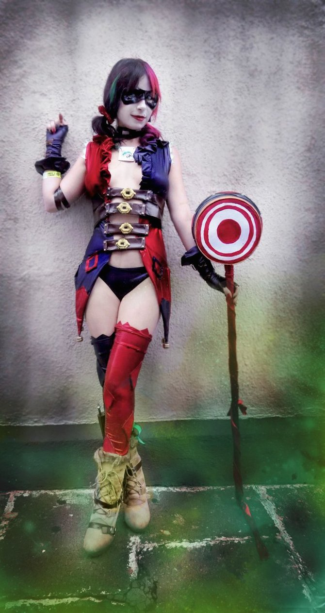Injustice Harley Mary Magika