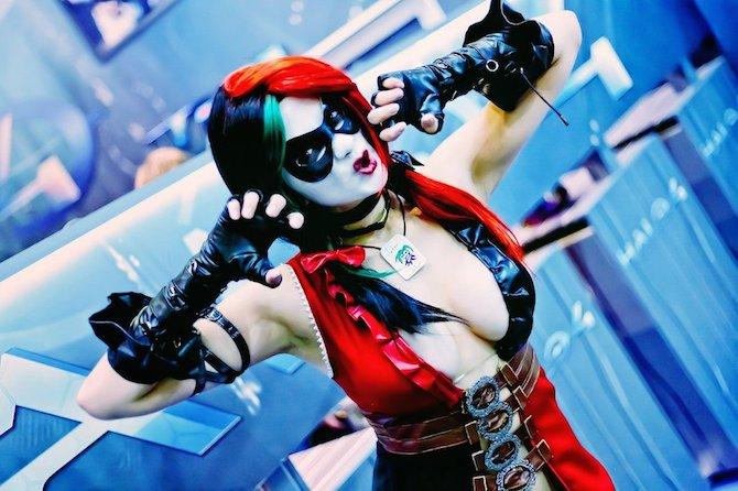 Injustice Harley Yoko Omi