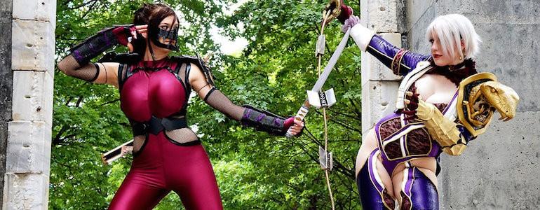 Taki vs Ivy (Soul Caliber) Cosplay Gallery
