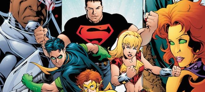 Teen Titans Comic
