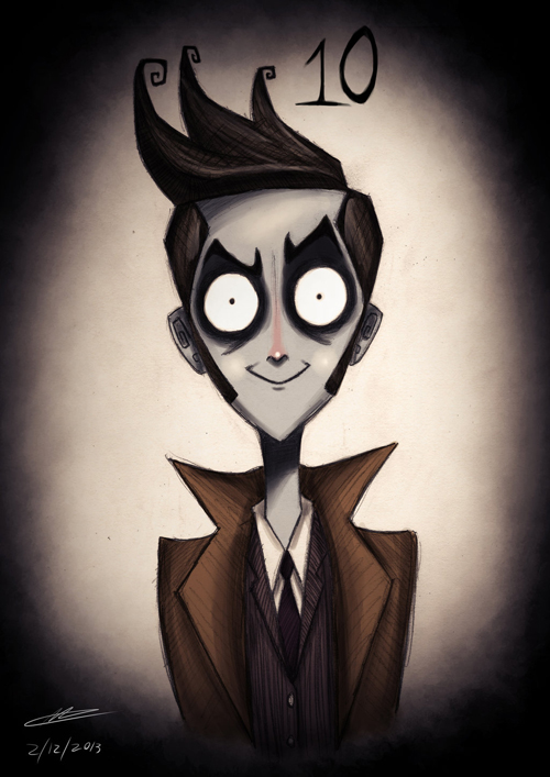 Tim Burton Doctor Who 10