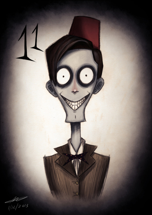 Tim Burton Doctor Who 11