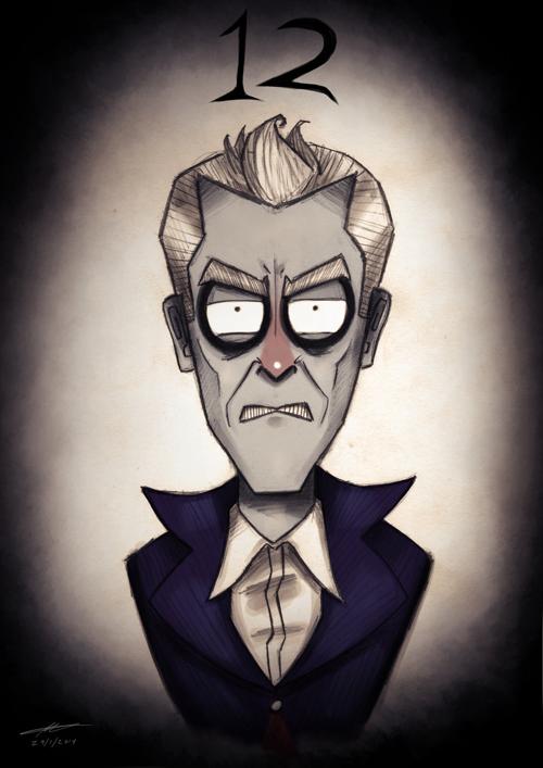 Tim Burton Doctor Who 12