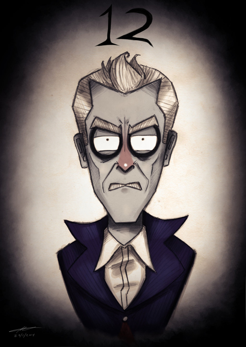 Tim Burton Doctor Who 12