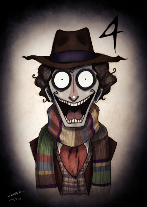 Tim Burton Doctor Who 4