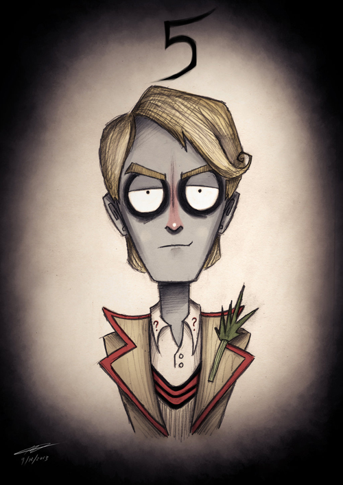 Tim Burton Doctor Who 5