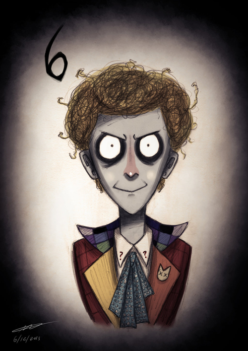 Tim Burton Doctor Who 6