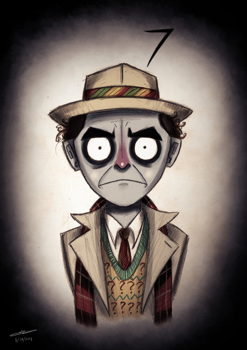 Tim Burton Doctor Who 7