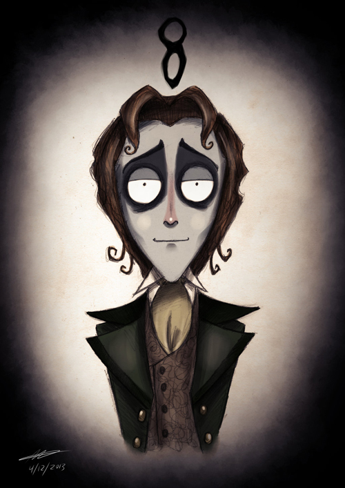 Tim Burton Doctor Who 8