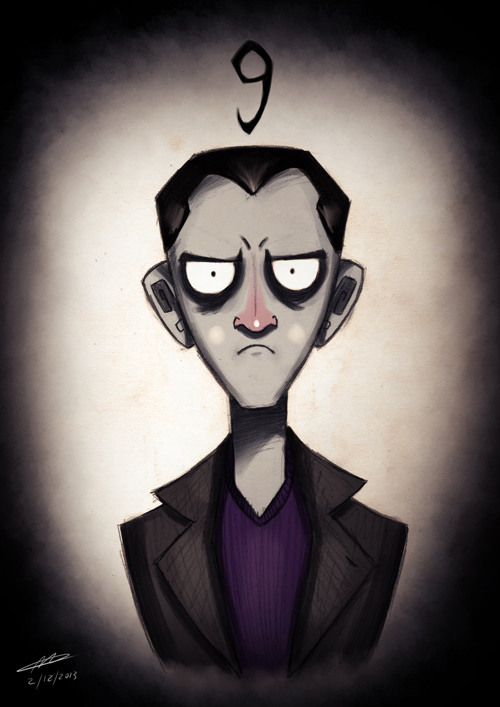 Tim Burton Doctor Who 9