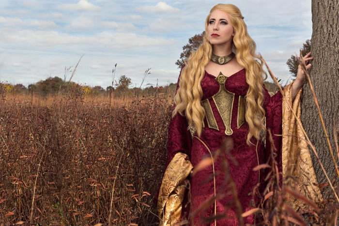 ceresei lannister game of thrones cosplay project nerd. Black Bedroom Furniture Sets. Home Design Ideas