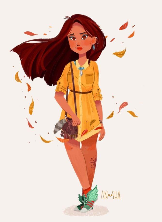 Disney, Disney Princesses, Snow White, Ariel, Princess Jasmine, Merida04