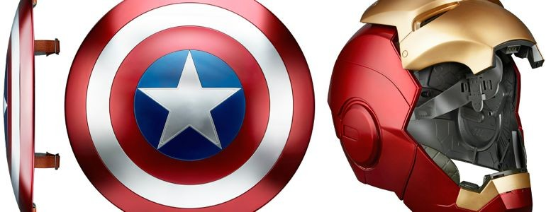 Marvel and Hasbro Cosplay Prop Team Up