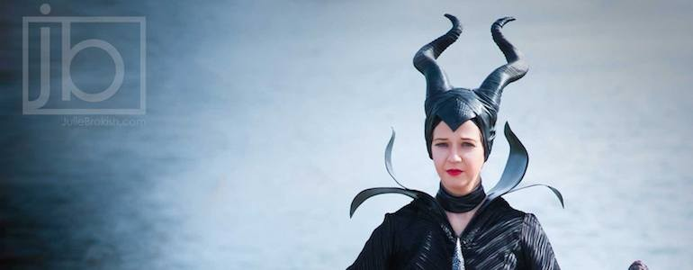Epic Maleficent Cosplay