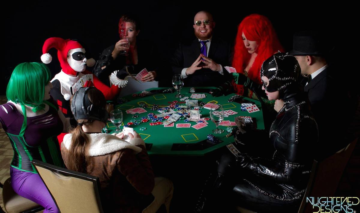 Project Cosplay DC Poker Shoot 1