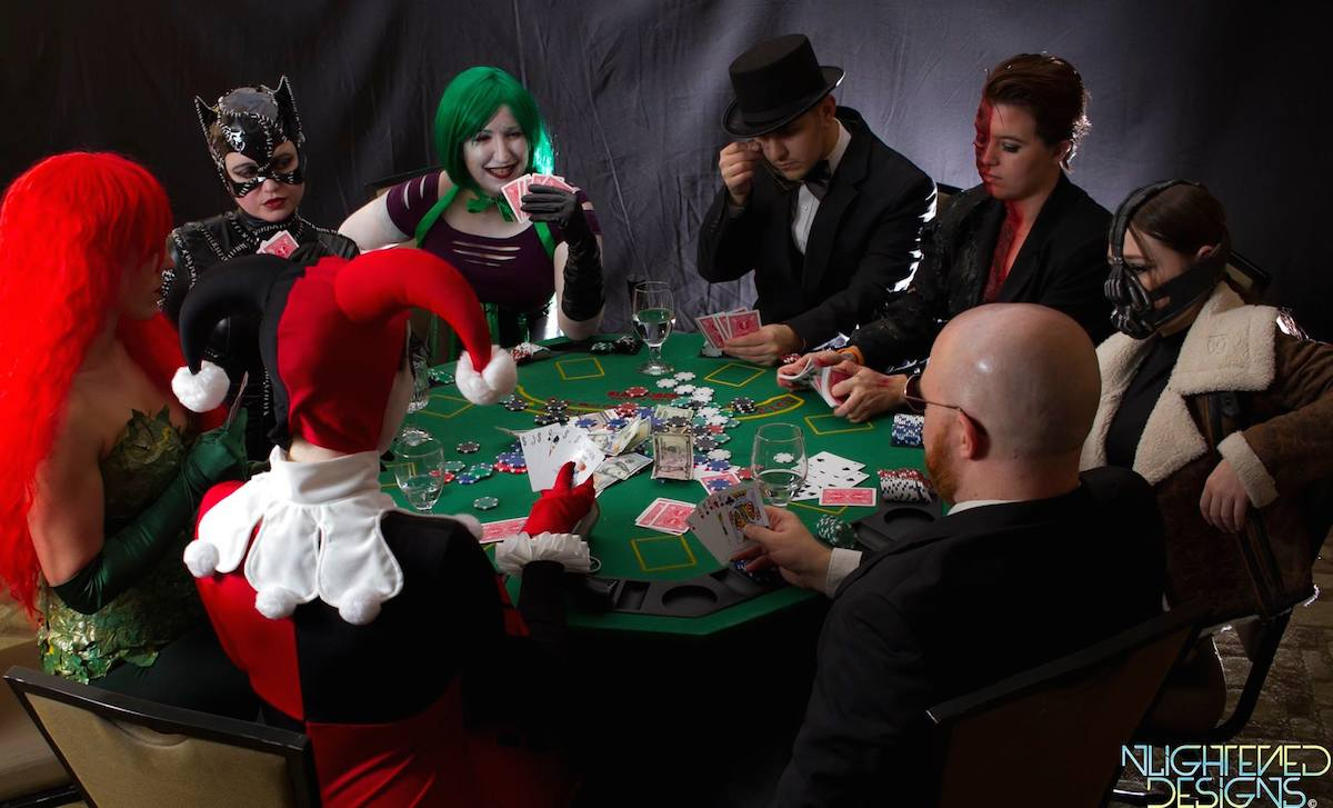 Project Cosplay DC Poker Shoot 2