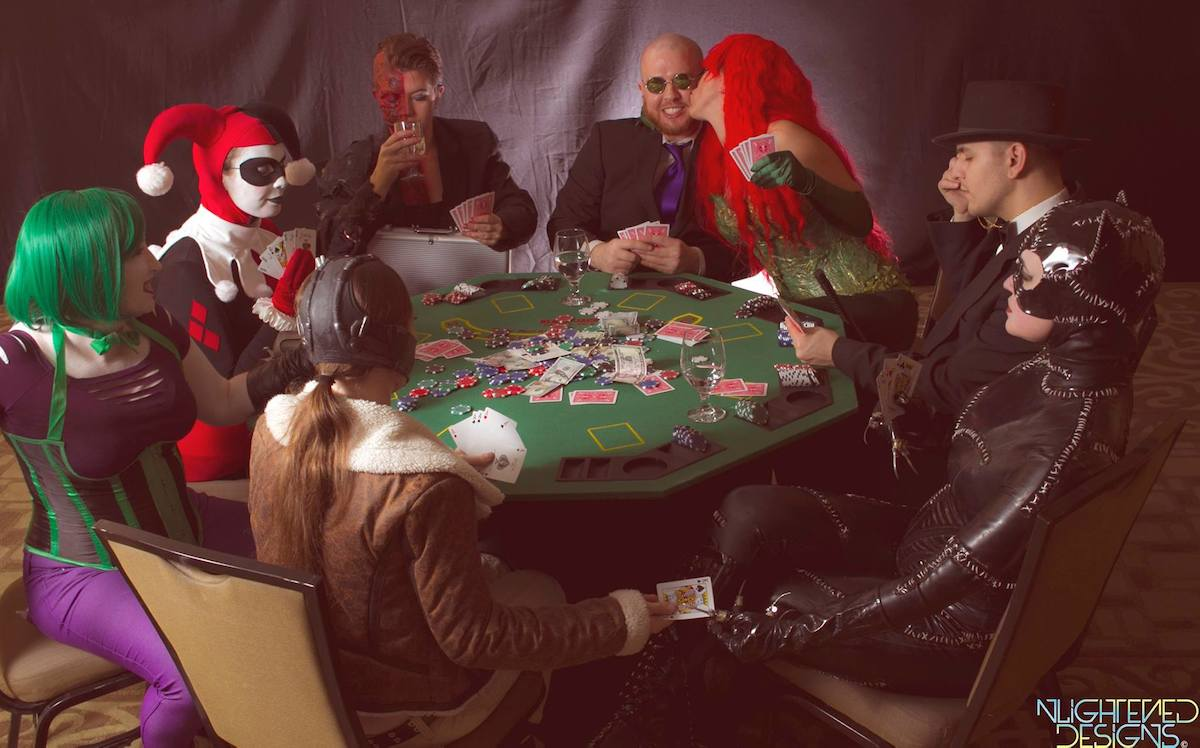 Project Cosplay DC Poker Shoot 3