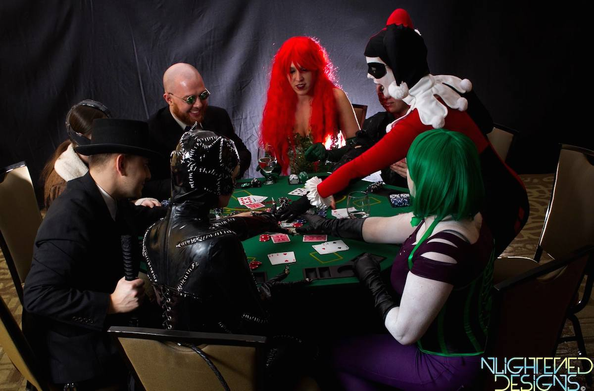 Project Cosplay DC Poker Shoot 5