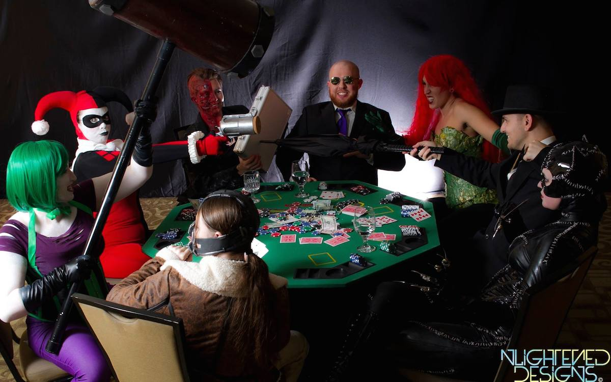 Project Cosplay DC Poker Shoot 6