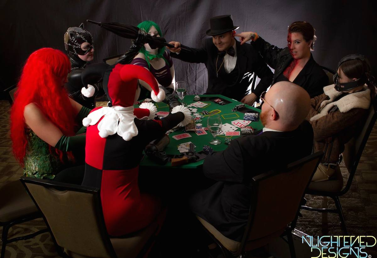 Project Cosplay DC Poker Shoot 7