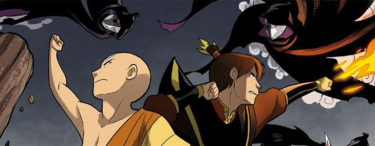 Avatar The Last Airbender  Smoke and Shadow Part One