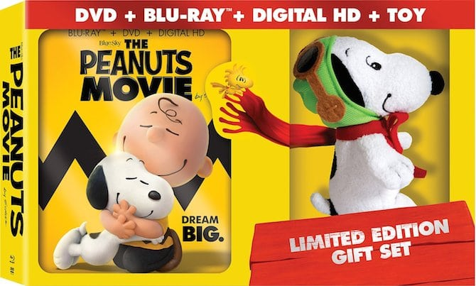Peanuts Movie with Limited Edition Snoopy Plush