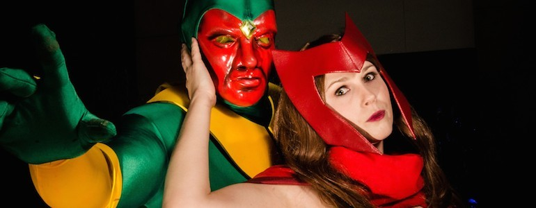 Scarlet Witch and Vision Cosplay