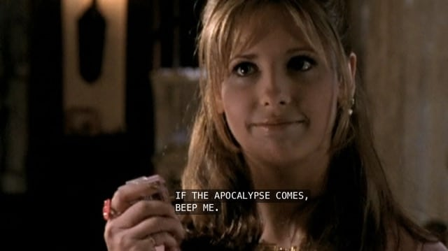 buffy apocalypse