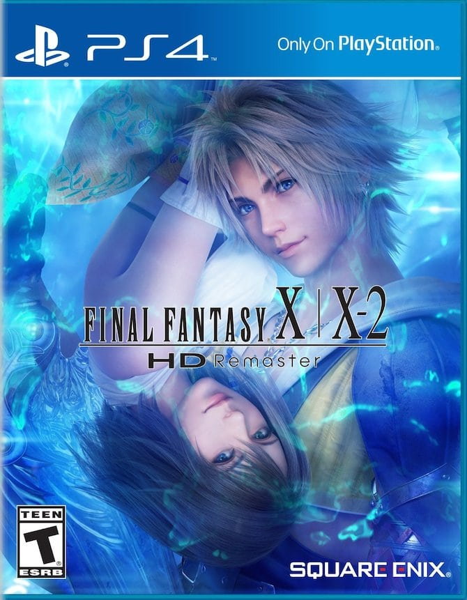 Final Fantasy X X-2 HD Remaster PS4 Cover