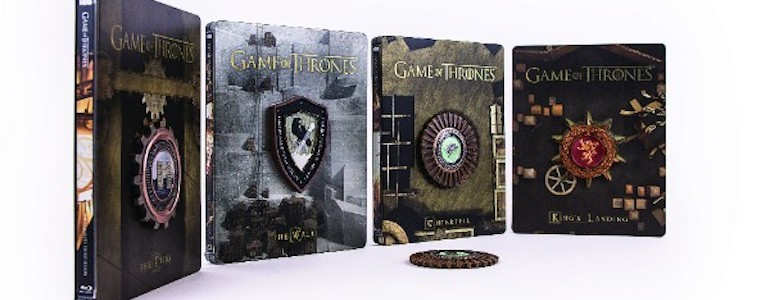 HBO to Release Game of Thrones Seasons 3 & 4 Steelbooks