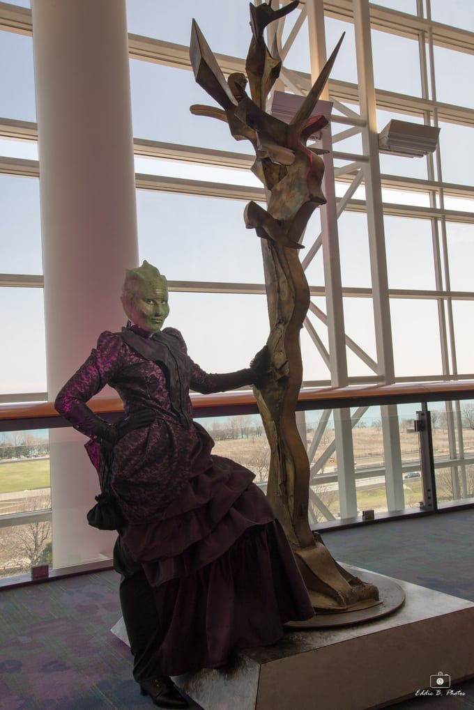 Jenny and Vastra Cosplay 4