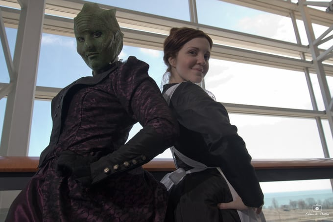 Jenny and Vastra Cosplay 5
