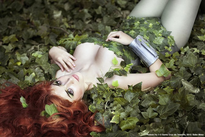 Poison Ivy Cosplay Collection Cristina Montelogo