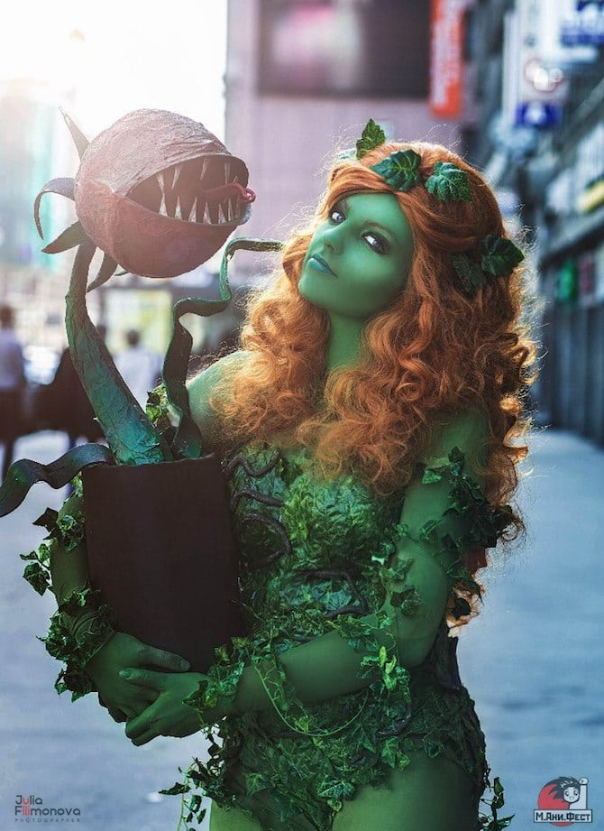 Poison Ivy Cosplay Collection Dea-Vesta