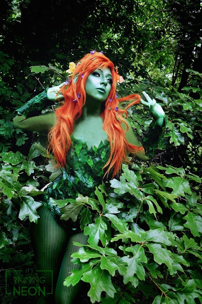 Poison Ivy Cosplay Collection Its Raining Neon