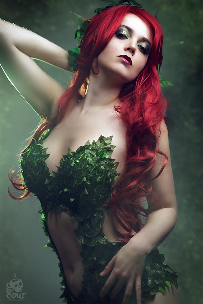 Poison Ivy Cosplay Collection Kitty Mortensen
