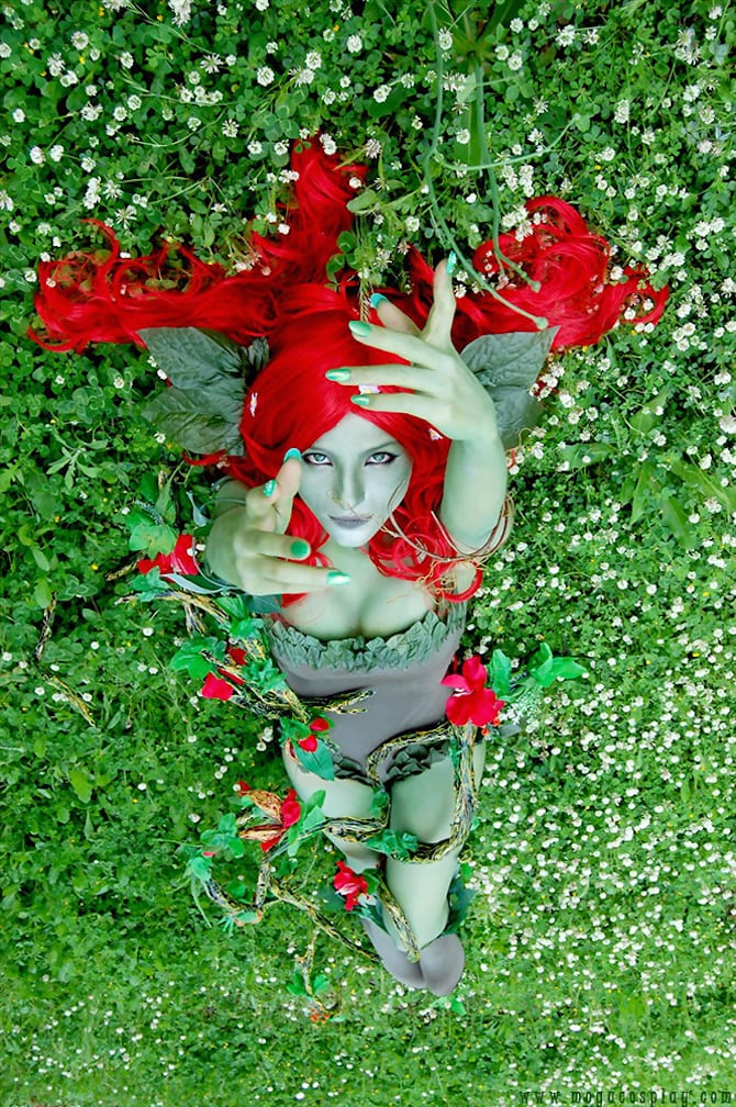 Poison Ivy Cosplay Collection Mogu Cosplay