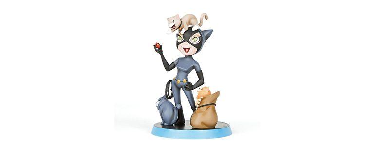 Quantum Mechanix Catwoman Q-Pop Figure
