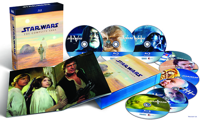 Star Wars Blu-ray Set 1-6