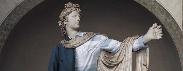 Classical Statues in Clothing